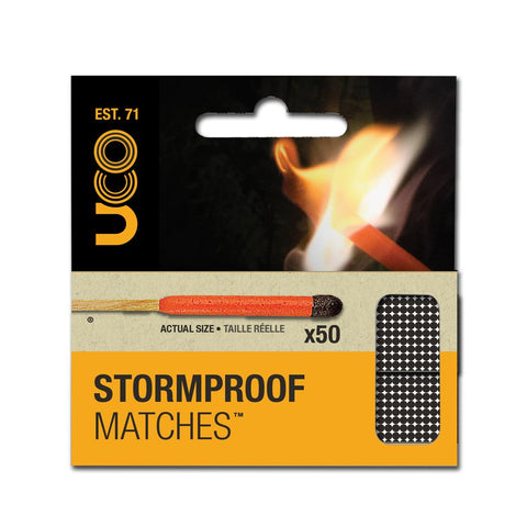 UCO Stormproof Matches 2-Pack - Survival Gear Canada