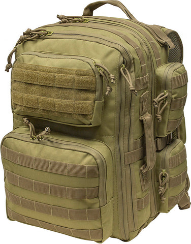 Mil Spex Overload High Capacity Tactical Pack Coyote Green
