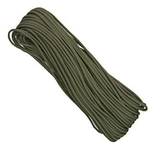 550 Paracord 100' Olive - Survival Gear Canada