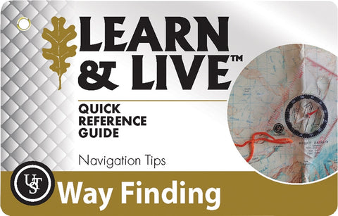 Learn & Live Cards – Way Finding - Survival Gear Canada