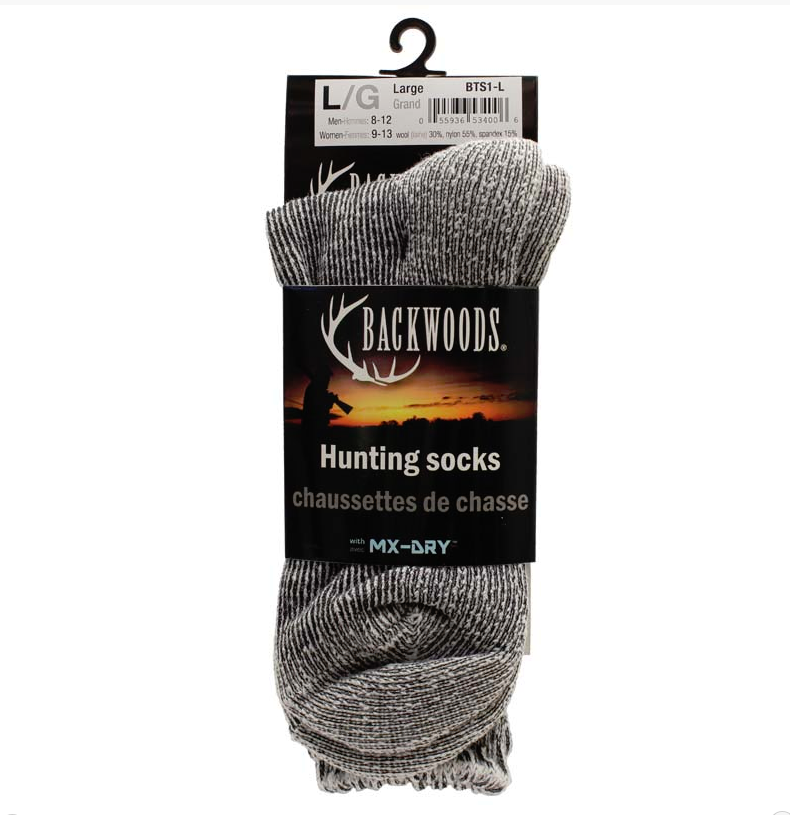 Backwoods Wool Hunting Socks