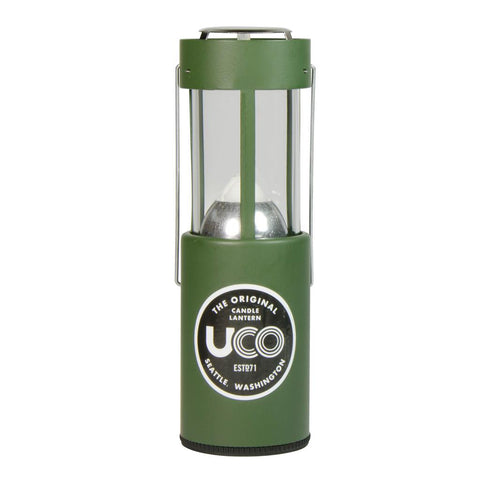 CLASSIC SERIES ORIGINAL UCO CANDLE LANTERN - PAINTED GREEN