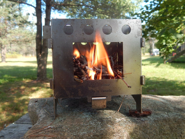 KIHD Back Country Wood Stove Collapsible and Portable