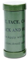 Military Tactical Camo Face Paint Black/Olive