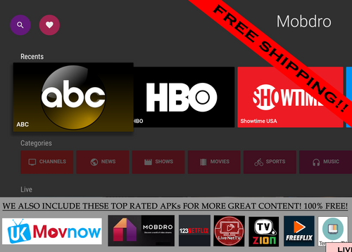 New! Jailbroken Fire Stick with Movies TV Show  Channels HD Kodi 17.6