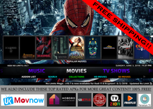 New! Jailbroken Firestick 4k Fire TV Ultra with Live TV Full HD Kodi 17.6