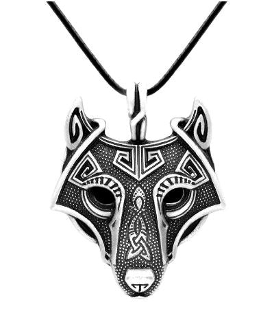 Viking Merchant Wolf Head Necklace FPS