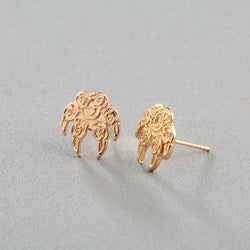 Antique Bear Paw Stud Earrings E013