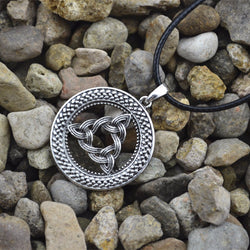 Norse Viking Trinity Amulet Pendant Necklace N019