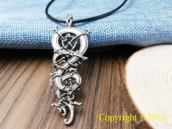 Ringerike Dragon Scandinavian Viking Necklace N004
