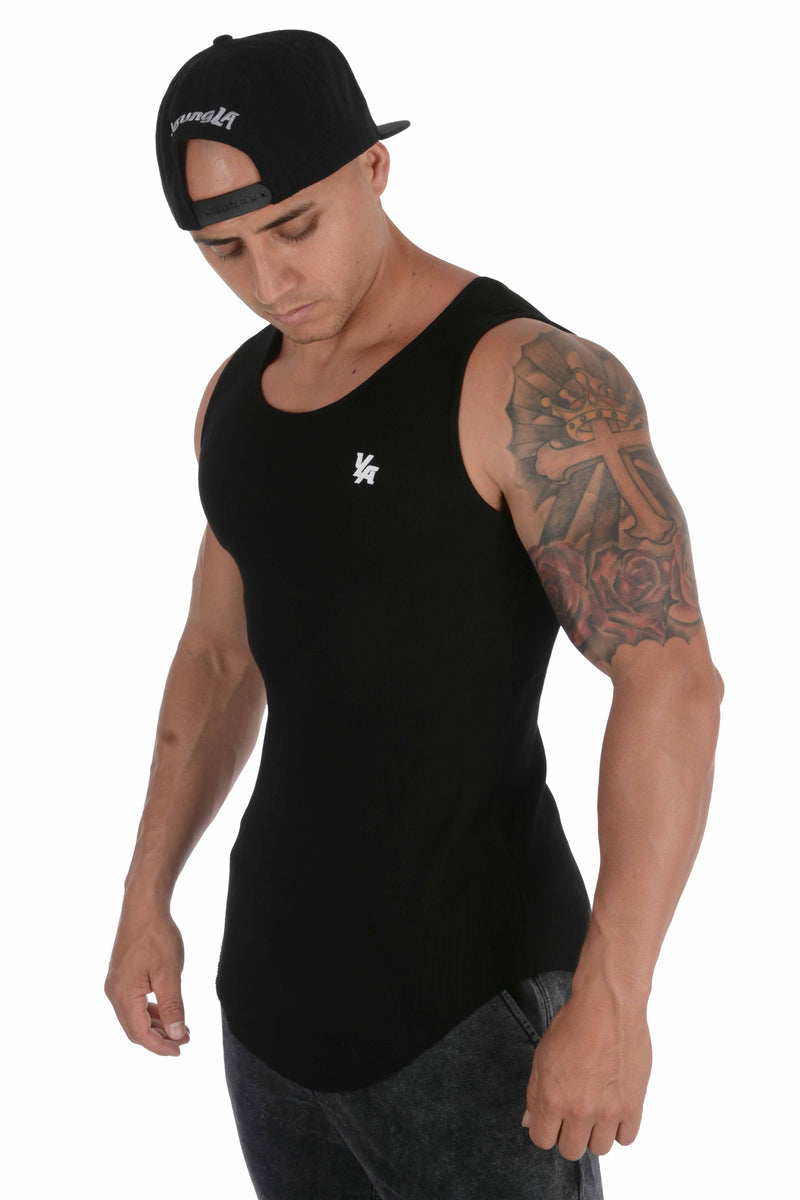 YoungLA Scoop Bottom Ribbed Tank 314