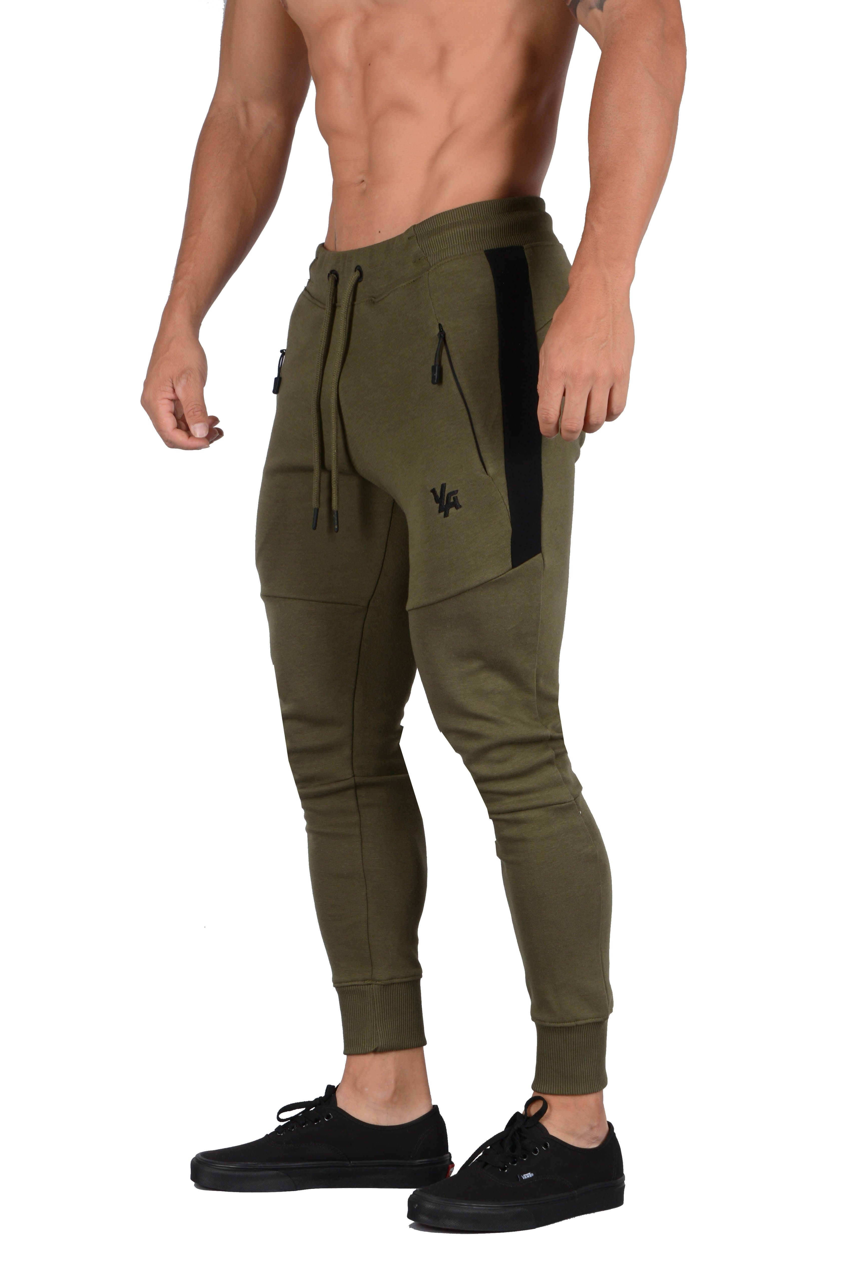 YoungLA Stripe Quad Joggers 224