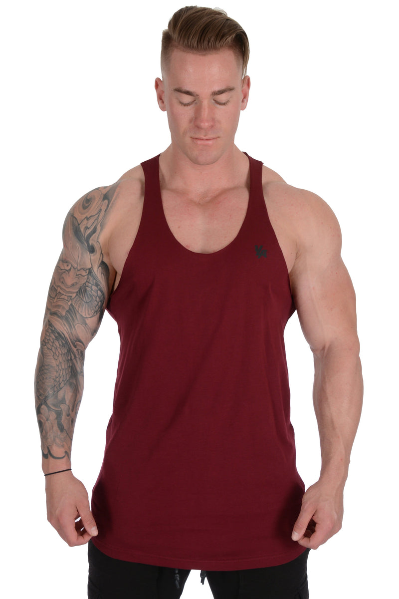 YoungLA Palazzo Raw Edge Stringer Tank Top 318