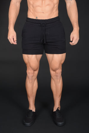 YoungLA Bodybuilding French Terry Shorts Solid Colors 102