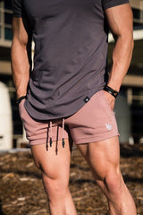 YoungLA Interlock Lifting Shorts 126
