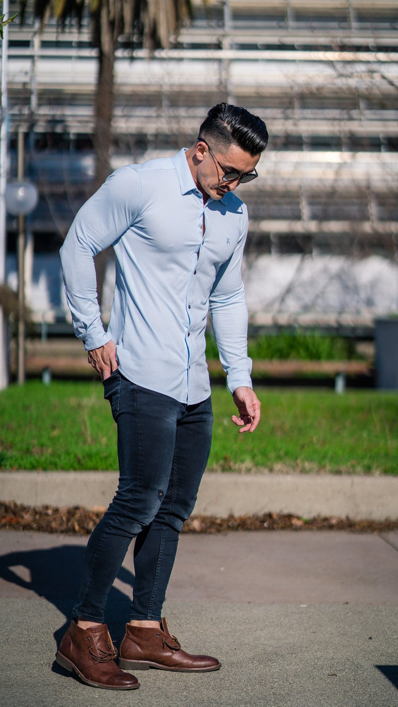 415 Athletic Fit Dress Shirt Button Down