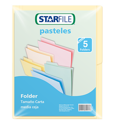 Folder Starfile Color Crema