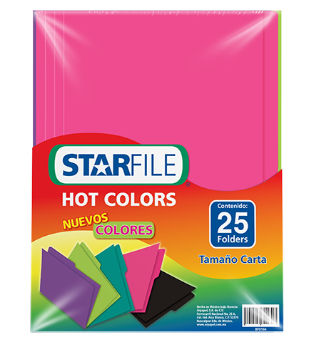 Folder Hot Colors