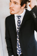 Load image into Gallery viewer, Mooney - Navy Floral Tie