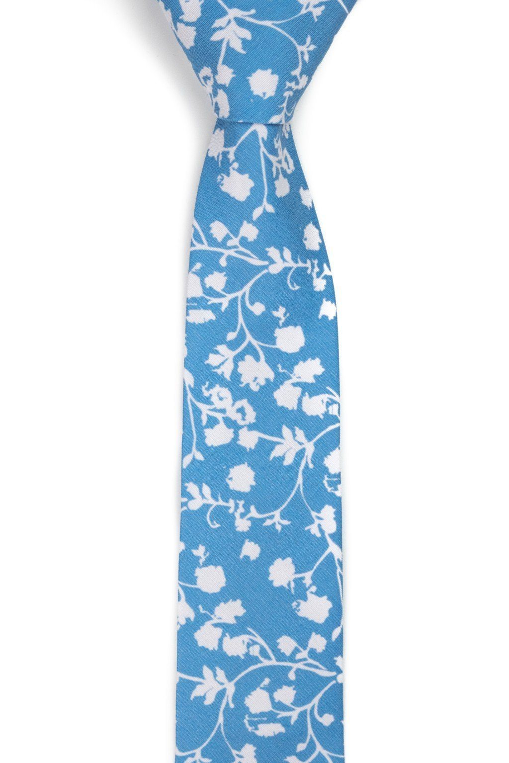 Crater - Light Blue Floral Tie