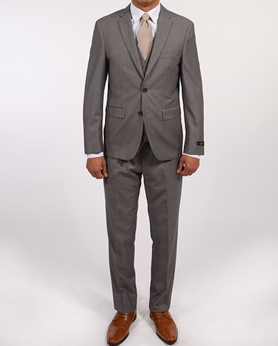 V Suit - Light Grey