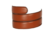 Load image into Gallery viewer, Chili Brown Leather Strap - Tough Tie