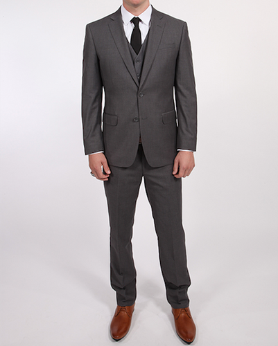 V Suit - Medium Grey