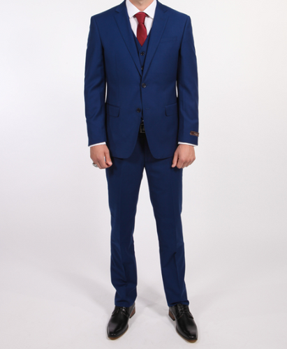V Suit - Royal Blue