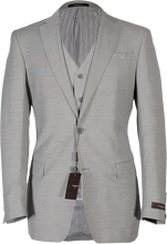 Load image into Gallery viewer, Suit-Sharkskin Grey
