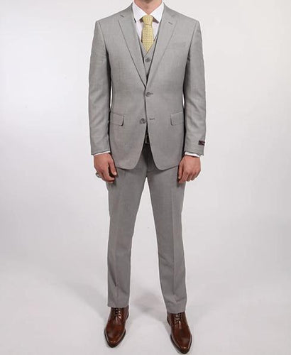 V Suit - Sharkskin Grey