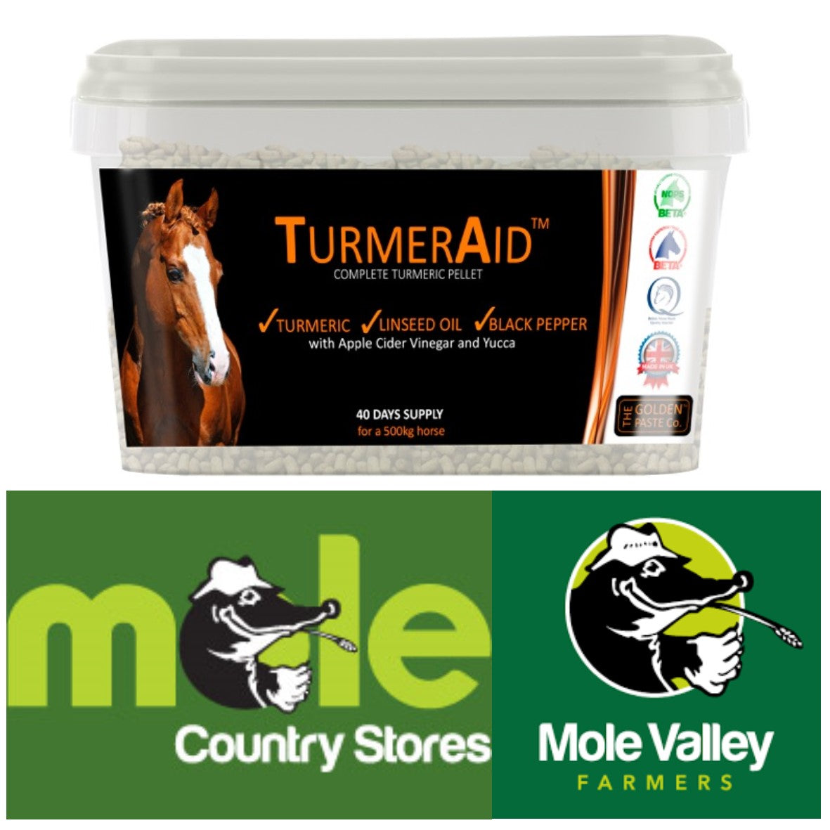 TURMERAID™ at Mole Valley and Country