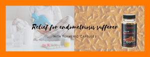 Turmeric Capsules Provide Relief for Endometriosis Sufferer