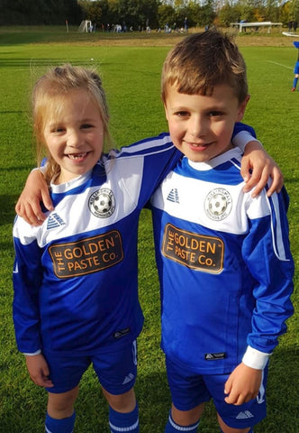 The Golden Paste Company sponsor the u7 Junior team at Killinghall Nomads Football Club