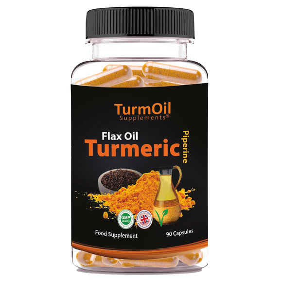 TurmOil Supplements® Capsules - The Golden Paste Company