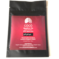 Tea Chocolate - Raspberry Tea (Dark Chocolate) 60% Organic Cacao