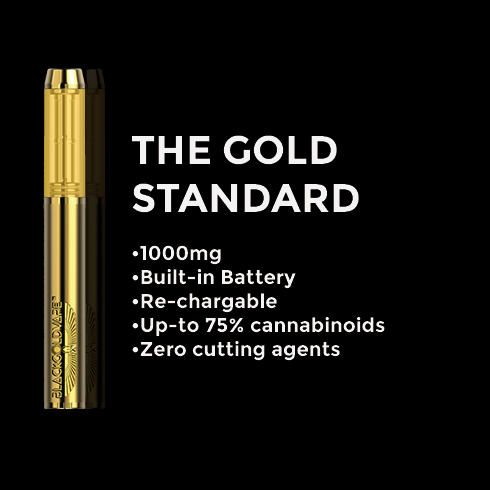 Black Gold The Gold Standard Disposable Vape Pen Vaporizer