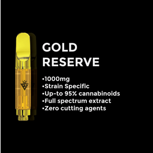 BlackGoldVape - Black Gold - Gold Reserve