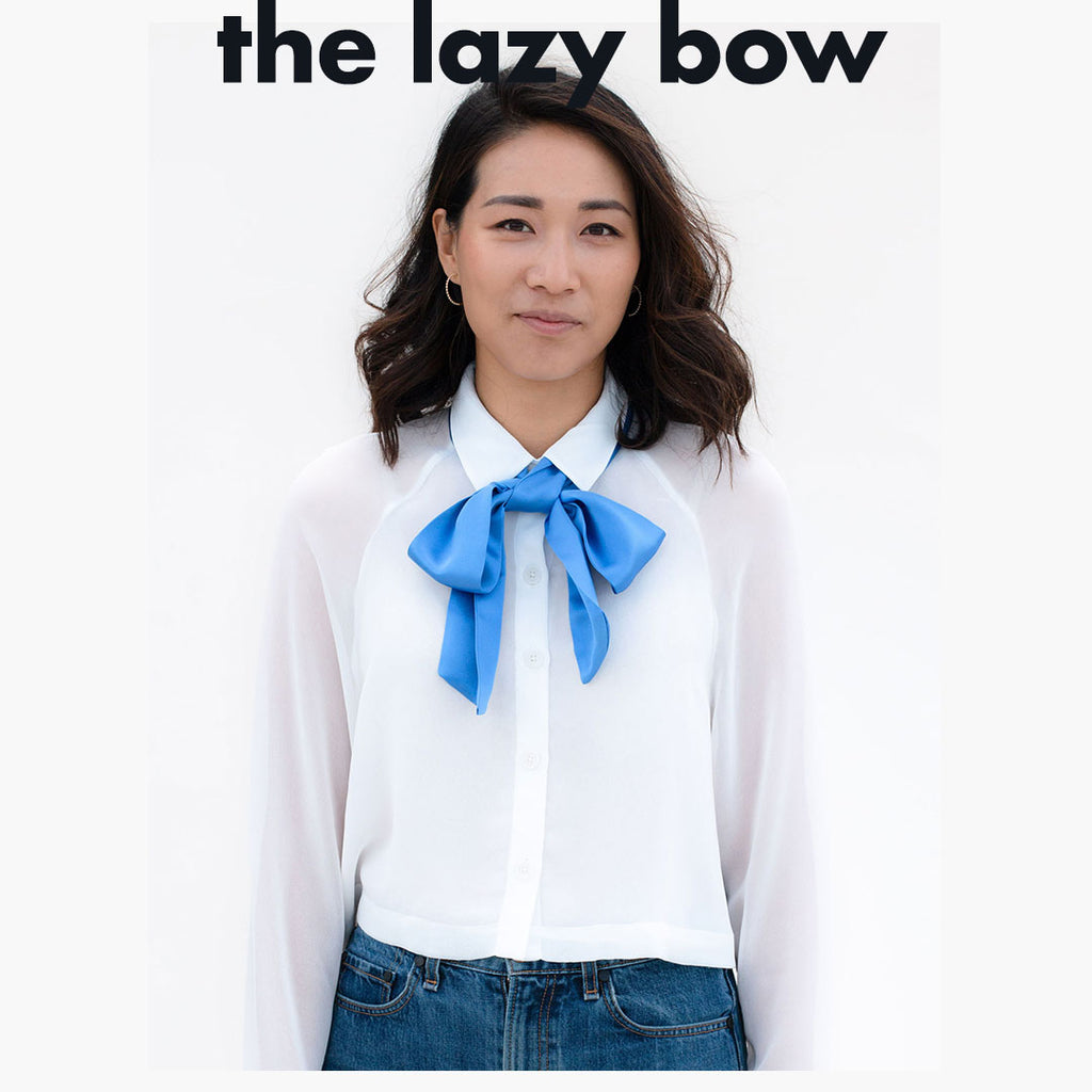 How to Tie the Lazy Bow