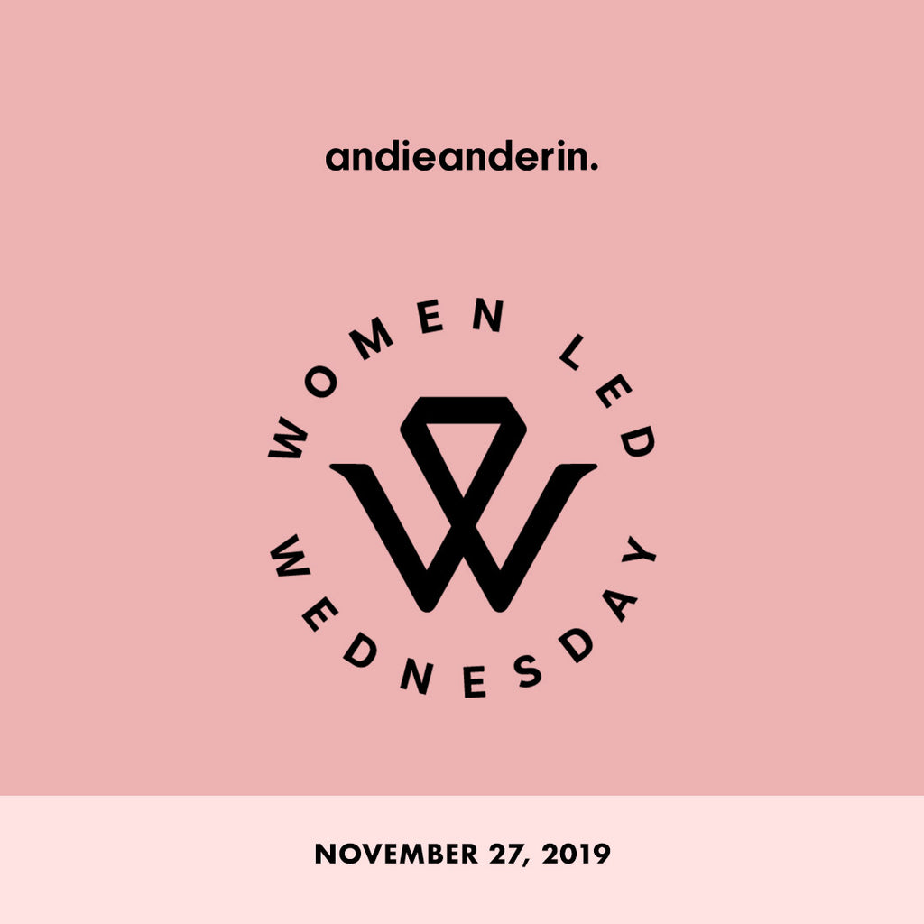 Andieanderin Joins Second Annual Women-Led Wednesday