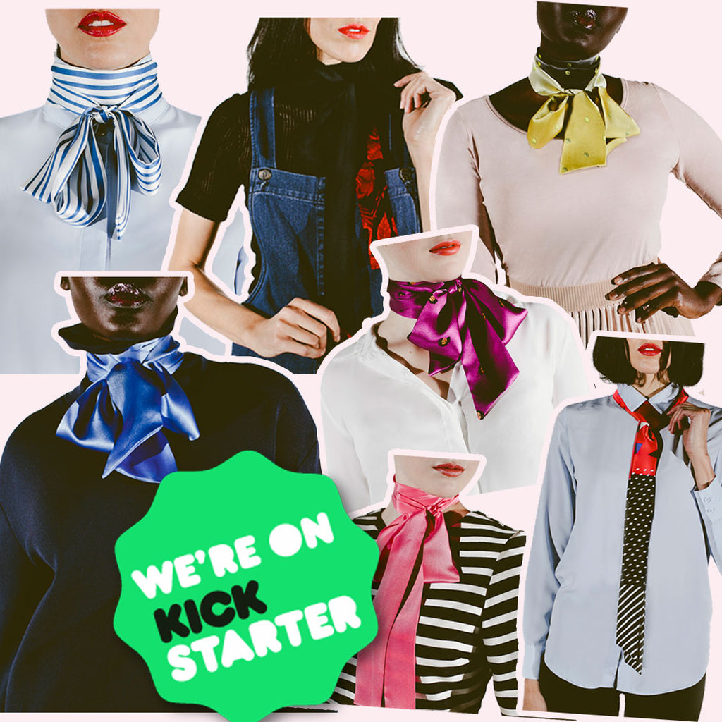 Press Release: New Fashion Start-up, andieanderin, Launch Kickstarter Campaign for Women and Girls Necktie Collection Designed After Influential Women