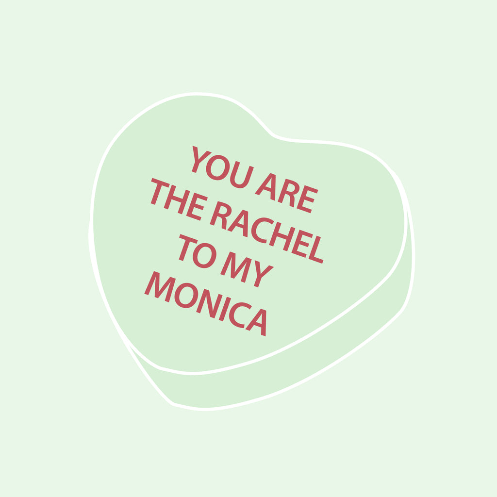 Monica-Geller-Rachel-Green-Friends-Valentines-Heart-Candy-andieanderin
