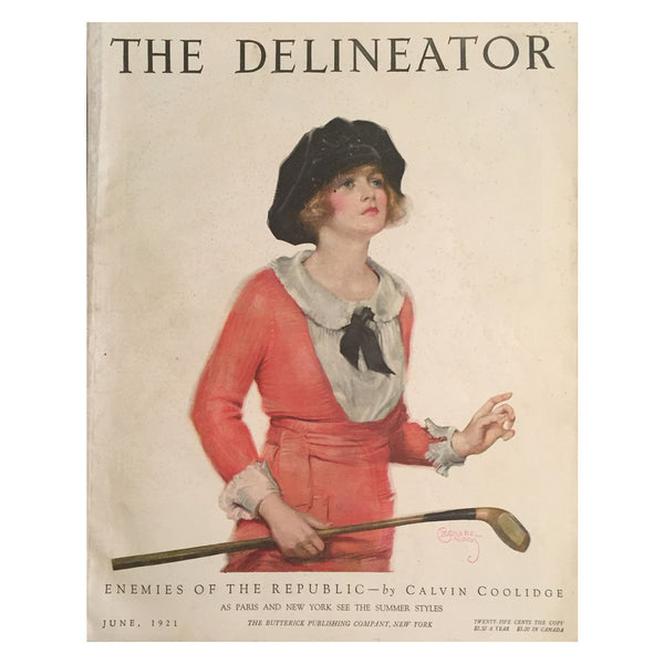 Delineator-magazine-necktie-bow-cover
