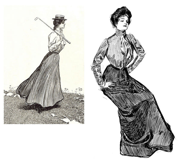 Gibson-Girls-Neckties