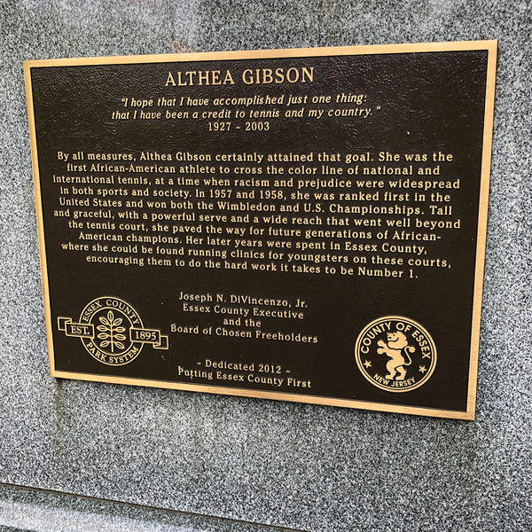 althea-gibson-statue-new-jersey-Essex-County-plaque