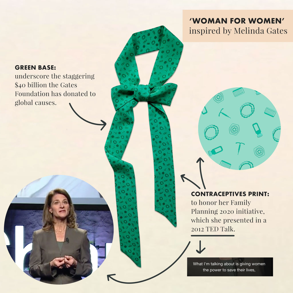 Melinda-Gates-andieanderin-woman-for-women-necktie
