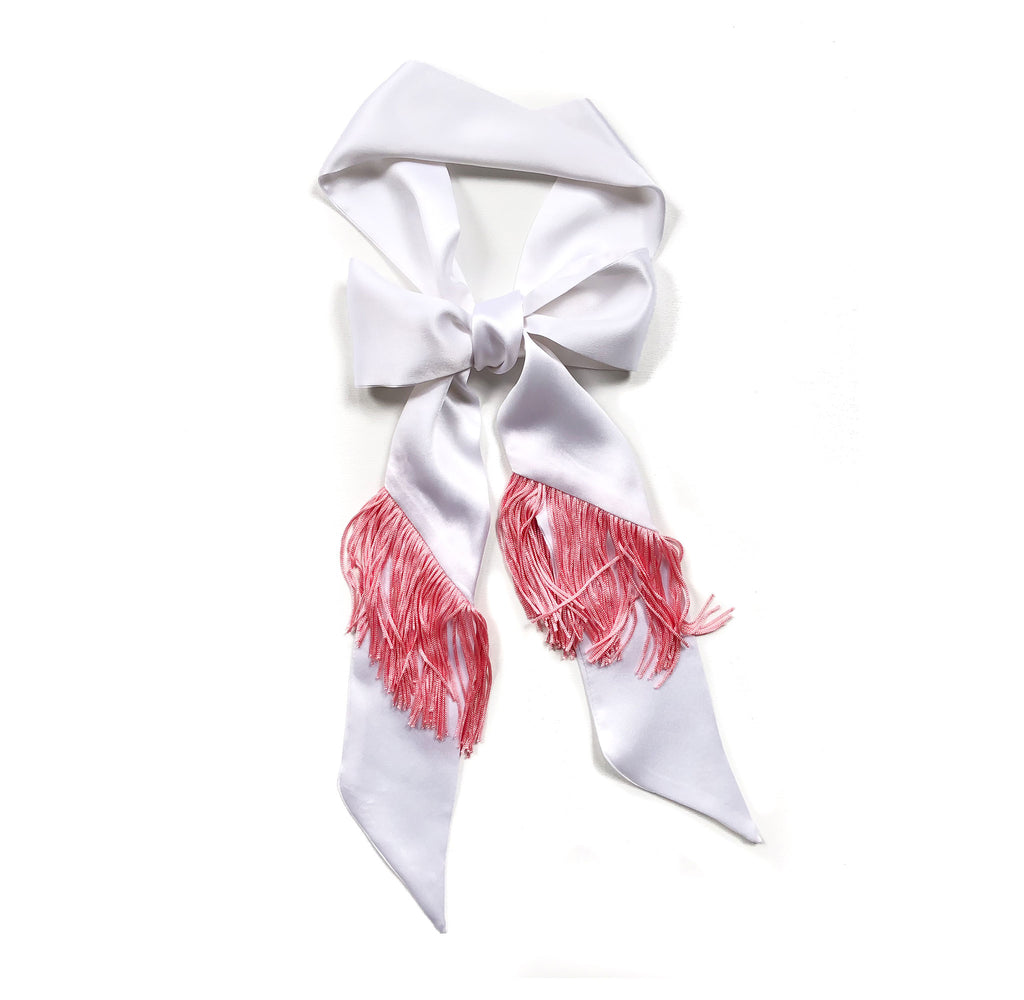 Parton Our Fringe Pussy Bow Necktie