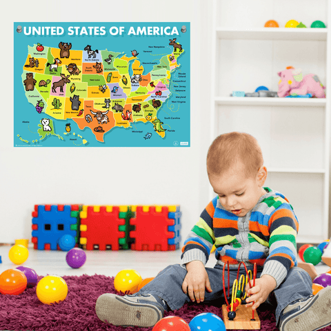 Image of Maps For Kids ], - The Hamptons Baby Co.