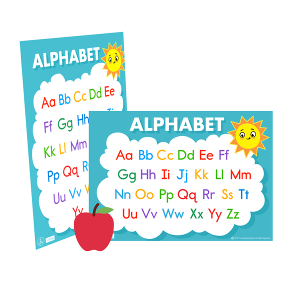 Alphabet Chart ], - The Hamptons Baby Co.
