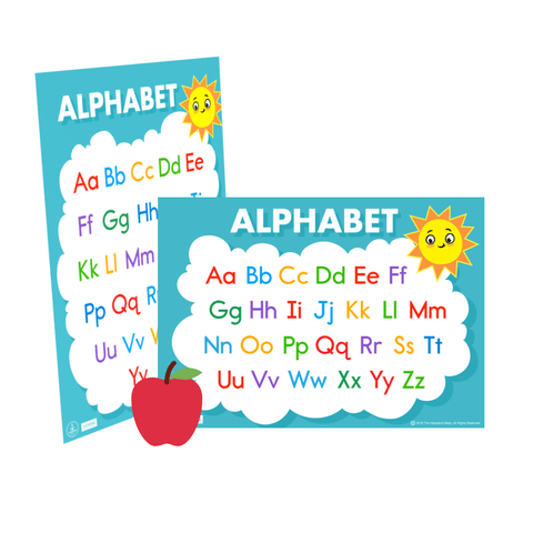 Image of Alphabet Chart ], - The Hamptons Baby Co.