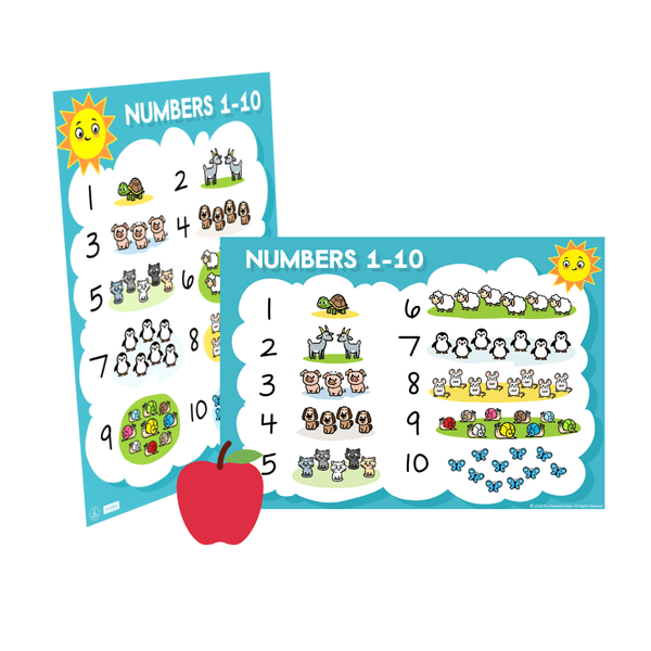 Numbers Chart ], - The Hamptons Baby Co.